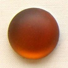 24mm Round Lunasoft Cabochon Copper - 1